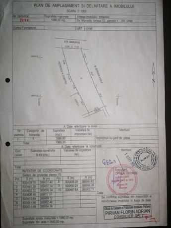 Teren intravila 1986 M² Urlați Prahova