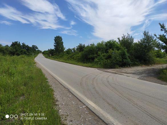 Парцел 5000м2 до асфалтов път