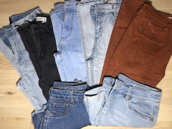 Различни видове дълги/къси дънки