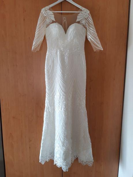 Rochie de mireasă ivory 36-38-40
