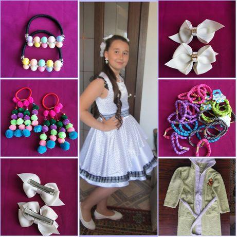 Платье на девочку, 10-12 лет, +подарки