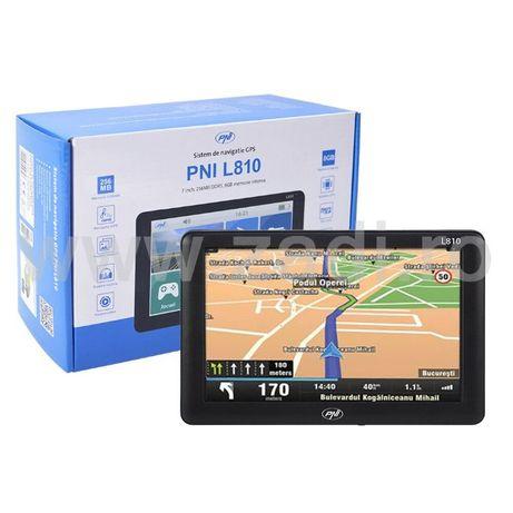 Versiune noua GPS camion- PNI - garantie 2 ani- Soft cu harti TIR