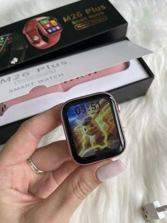 Новые! Смарт часы M16 / M26 plus дизайн Apple Watch 6 по супер цене