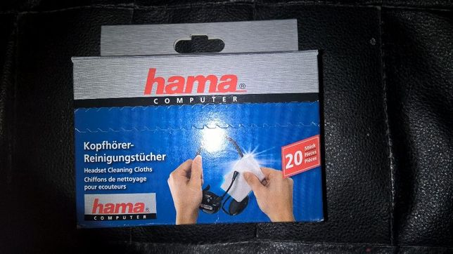Negociabil vand lavete umede Hama pentru curatare ecrane lcd si casti