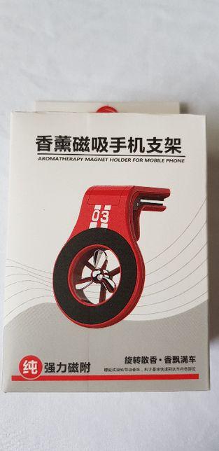 suport telefon magnetic cu odorizant