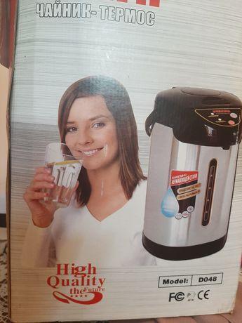 Чайник термос новый