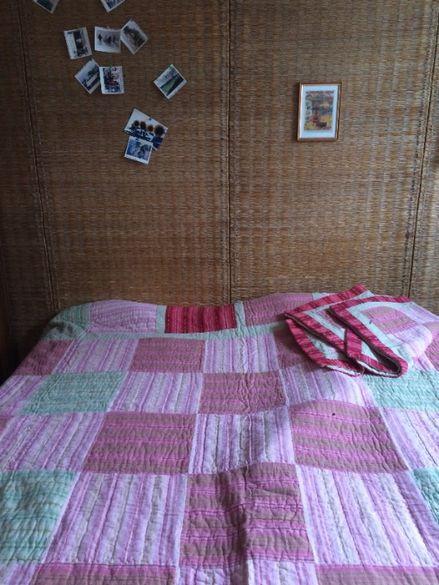 Нов комплект ковертюра за легло с две калъфки