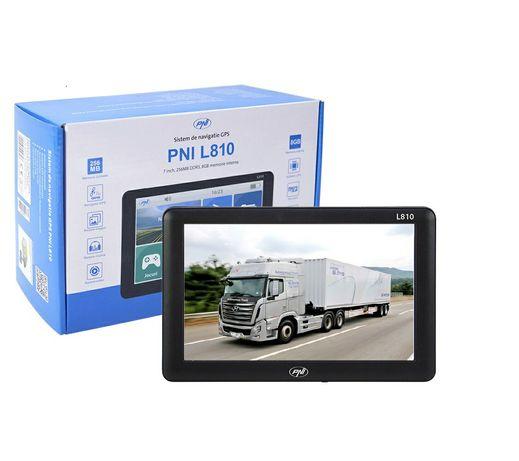 GPS portabil PNI L807 7 inch, 800 MHz, gata de drum cu 4 programe TIR