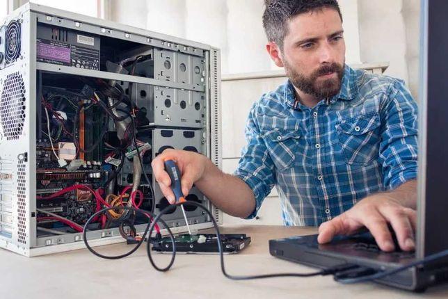 РЕМОНТ Компьютеров ⦿ Ноутбуков ⦿Установка Windows 10-11 ⦿ Выезд на дом