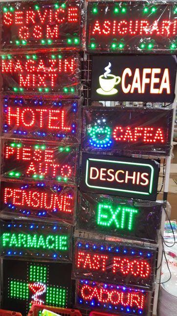 Semn pentru magazin, restaurant, bar etc. Diverse modele si marimi.