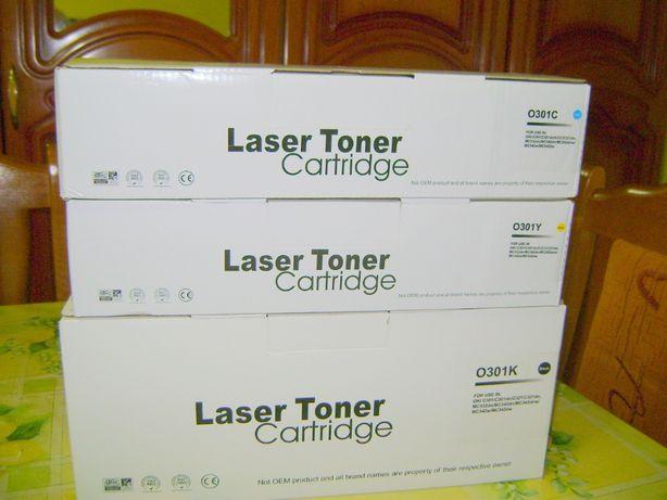 Cartuse Toner compatibile OKI O301K,,C și Y sigilate .Ofer şi bonus!