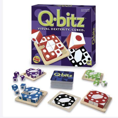 Qbitz настольная игра для памяти, логики, возраст 4+