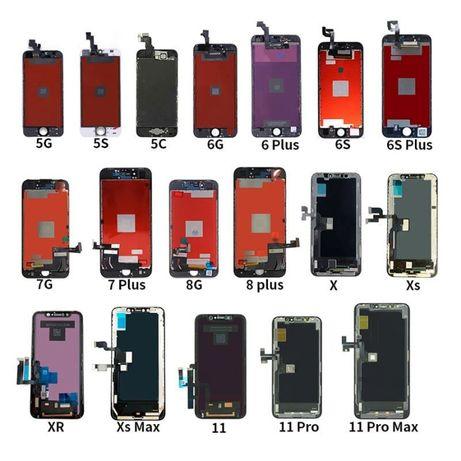 Дисплеи и части за iPhone 5s, 6, 6s, 6+, 6s+, Se, 7, 7+,8, 8+, x