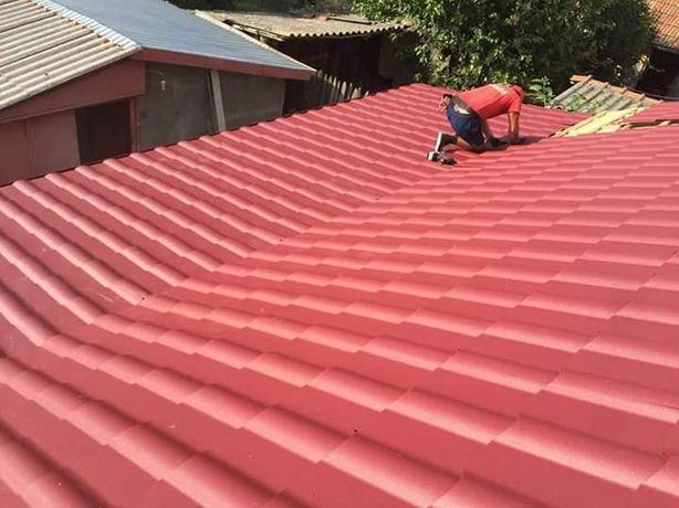 Montaj acoperișuri reparatii mansardă velux hidroizolati