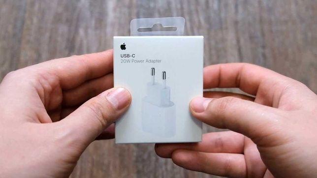 Быстрая зарядка (Адаптер) ОРИГИНАЛ iPhone 11/12 pro (доставка)