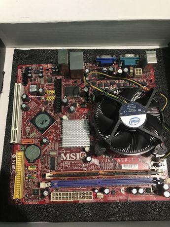 Kit Socket 775, Intel Celeron 420, ram 512mb ddr2