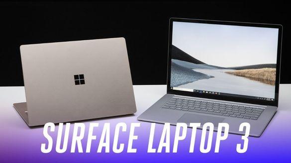 НОВ! Microsoft Surface Laptop3 /i5 1035G7/Iris Plus WQHD/LPDDR4X!