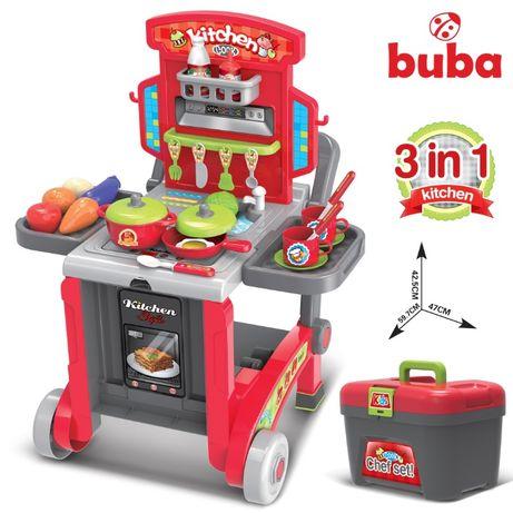 Детска кухня Buba Little Chef 008-930, Куфар, Червен