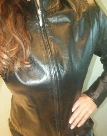 Дамско кожено яке естествена кожа