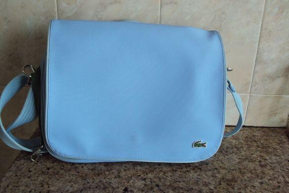 Продавам елегантна спортна чанта марка Lacosta