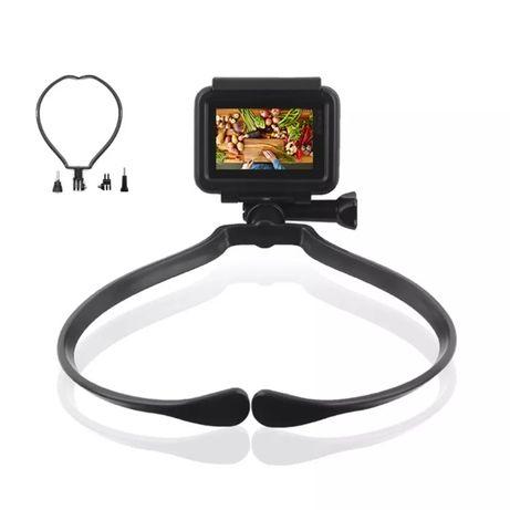 Prindere pentru gat 180 pentru GoPro camera de actiune mount reglabila