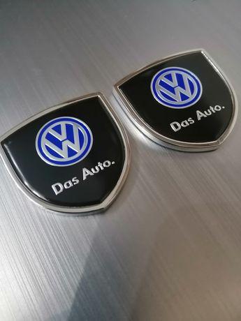 Set 2 embleme metalice - autoadezive