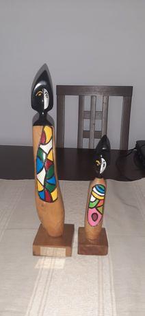 Sculpturi din lemn mai vechi Rep.Dominicana