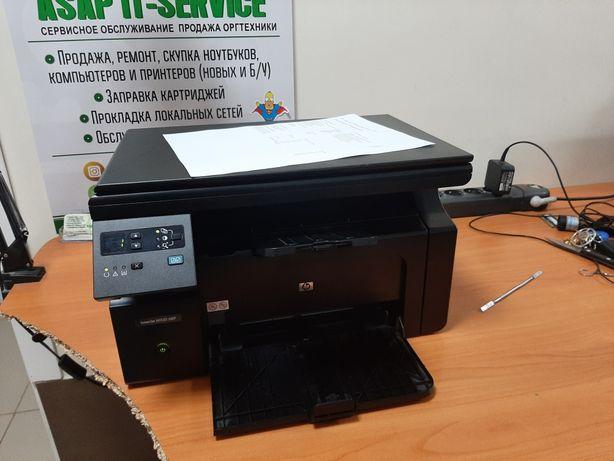 Мфу 2 Принтер hp 1132 не чипованый 85 картридж