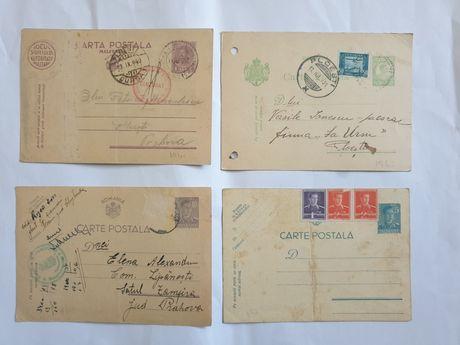 Lot 11 Carti Postale Militare Românești 1942-1944,plus o Telegrama..