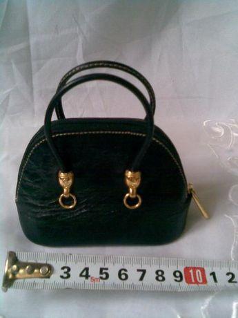 """За колекционери-2 Мини дамски чанти от естествена кожа """"MALECI""""Italy+"""