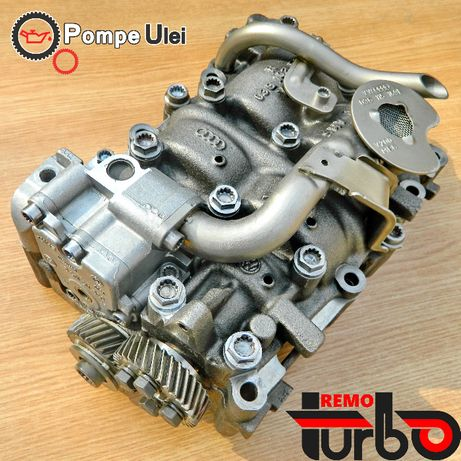 Reparatie Pompa Ulei VW Passat B6 2.0 TDI BMP BKP AUDI A4 CAGA CBAB