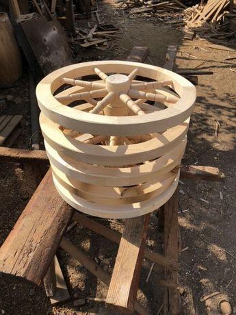 Roti din lemn - timona - roata de lemn rustica