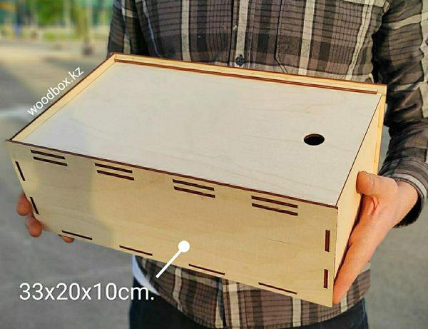 Подарочные коробки деревянные