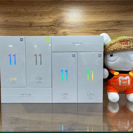 Смартфоны Xiaomi Mi 11 Lite. Новые, оригинал. Гарантия. Караганда