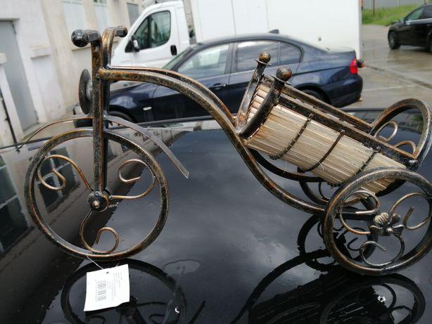 Stativ vin/bicicleta pentru pus sticla de vin