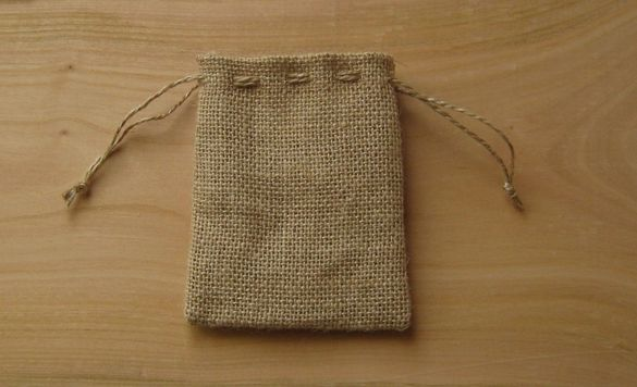 Торбичка от зебло 9х10см.