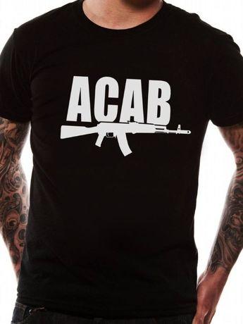 3 МОДЕЛА! Мъжки тениски ACAB POLICE! Или поръчай модел с ТВОЯ идея!