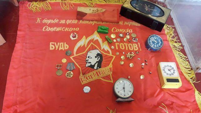 Продам советские флаг вимпел СССР 10000т
