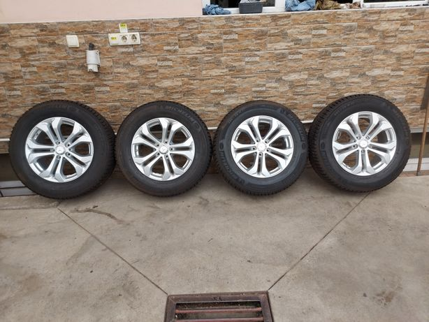 Jante NOI Originale R17 Mercedes GLC cauciucuri Michelin 235 65 17