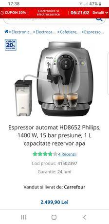 Vând expressor de cafea automat