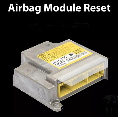 Airbag reset - crash data - resetare modul airbag