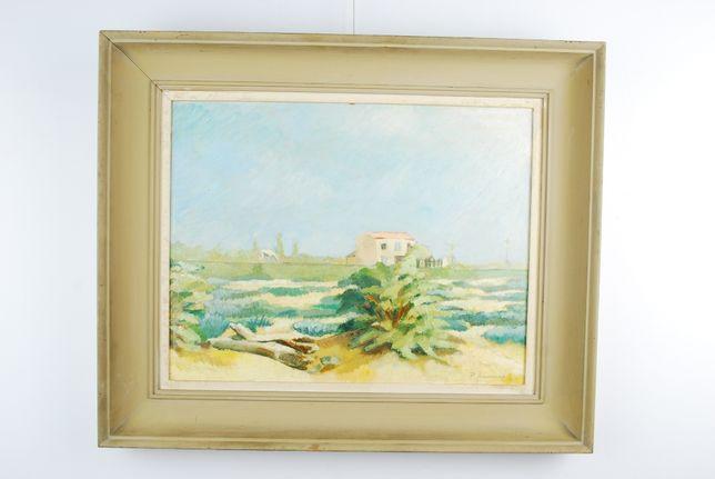 Tablou pictura Peisaj - Ferma din sudul Frantei
