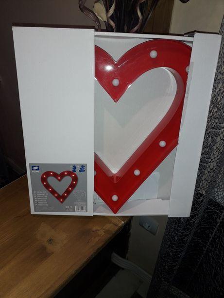 Decoratiune led inimă