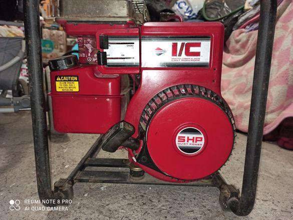 Бензинов генератор за 220 волта