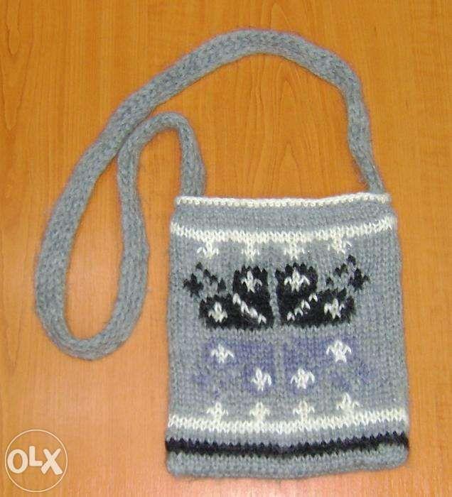 Trăistuţă tricotată