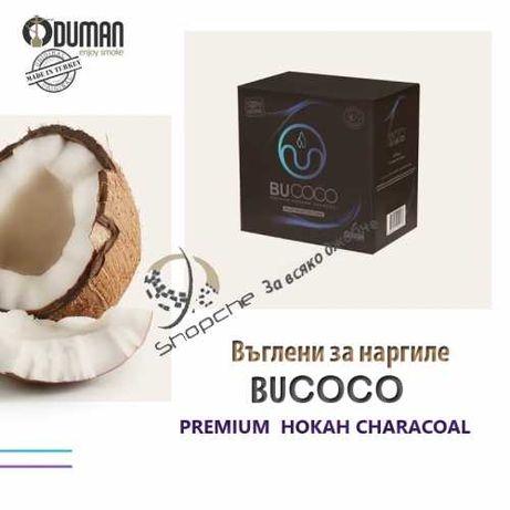 Въгледни за наргиле BUCOCO Premium Hokah Characoal