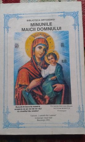 Vând carte Minunile Maicii Domnului de Nicodim Măndiță