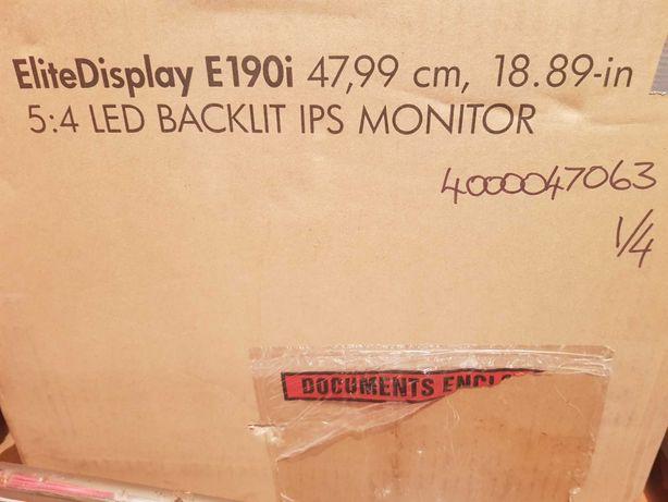 Vand Monitor  HP EliteDisplay E190i (E4U30AA)Nefolosit,fara garantie