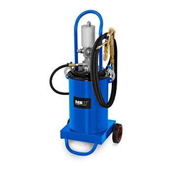 Pompa gresat pneumatica 12L aprox 20kg.Noi complet