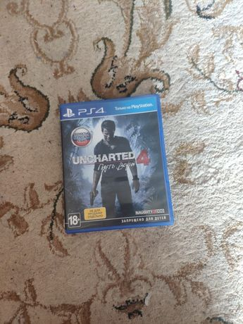 Uncharted 4 продаю